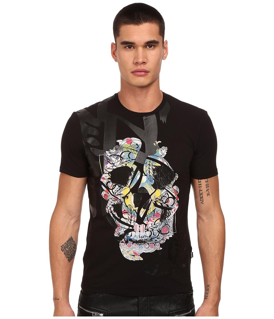 Just Cavalli - Graffiti Skull Print (Black) Men