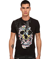 Just Cavalli - Graffiti Skull Print
