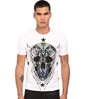 Just Cavalli - Modern Deco Skull Print Tee w/ Stars