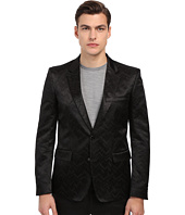 Just Cavalli - Chevron Chain Jacquard Dinner Jacket