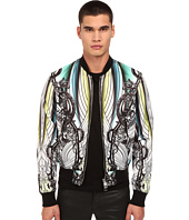 Just Cavalli - Modern Deco Printed Bomber