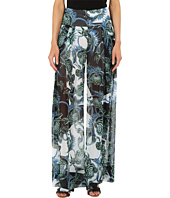 Just Cavalli - Ikebana Ray Chiffon Samurai Pants