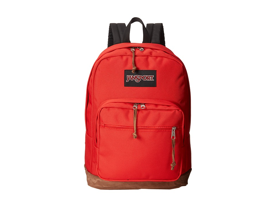 JanSport Right Pack High Risk Red Backpack Bags