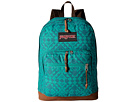 JanSport Right Pack Expressions (Moonlight Teal Canvas)