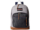 JanSport Right Pack Expressions (Grey Varsity Felt)
