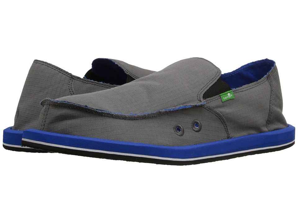 Sanuk - Vagabond Nights (Charcoal/Royal) Men