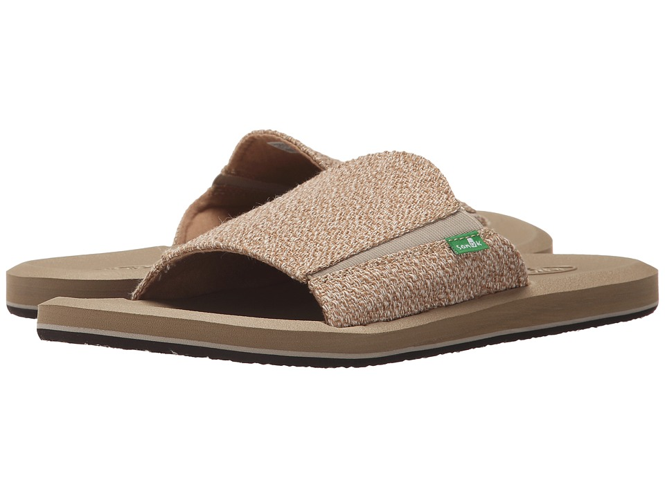 Sanuk - Vagabond Slide (Natural Hemp) Men