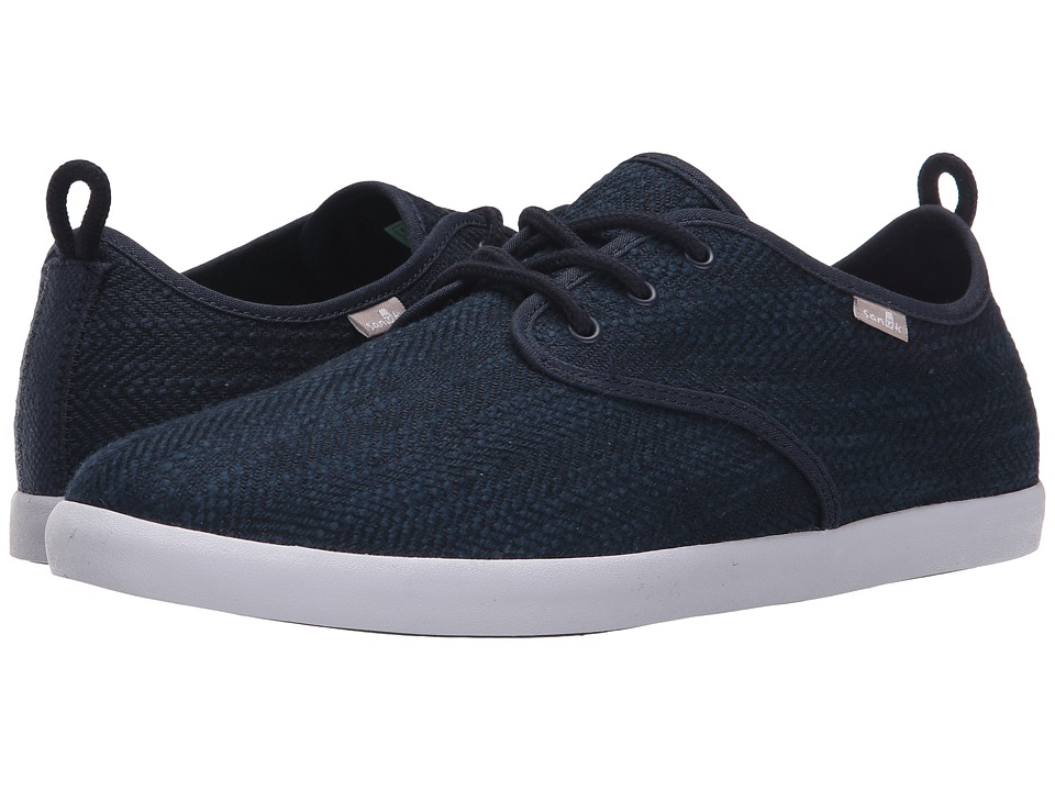 Sanuk Guide TX Navy Mens Lace up casual Shoes
