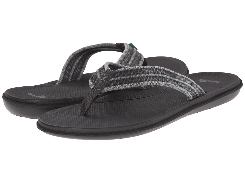 Sanuk - Planer Webbing (Black) Men