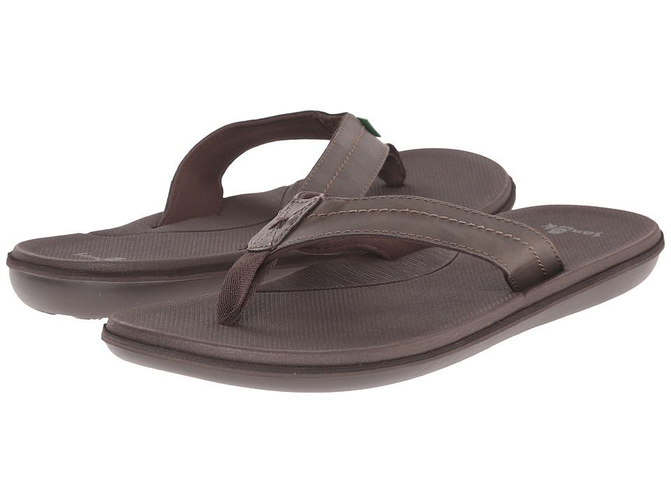 Sanuk - Planer (Brown) Men