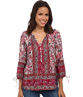 Lucky Brand - Floral Woodblock Peasant
