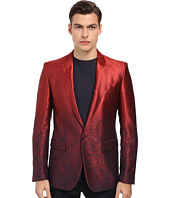 Just Cavalli - Ombre Red To Blue 1B Peak Lapel