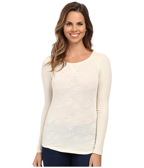 Lucky Brand - Jacquard Thermal (Nigori) Women's T Shirt