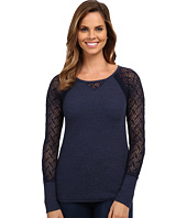 Lucky Brand - Lace Raglan Thermal