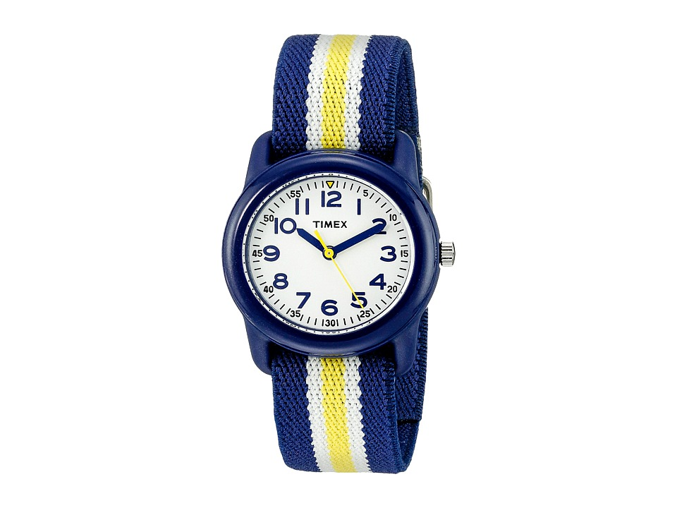 Timex Analog Little Kids/Big Kids Blue/Yellow/White Analog Watches