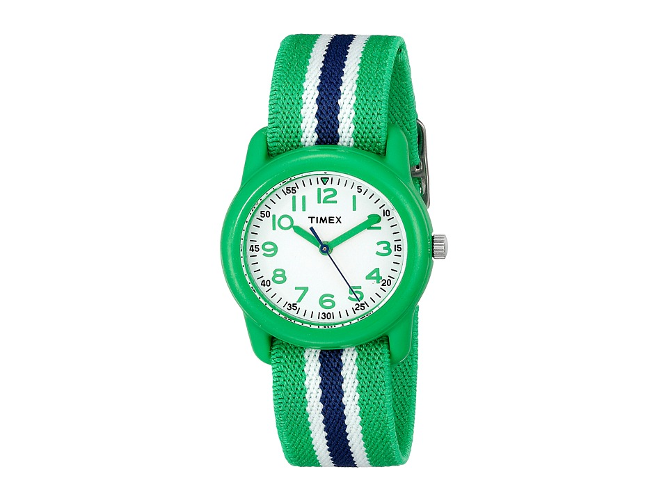 Timex Analog Little Kids/Big Kids Green/Blue/White Analog Watches