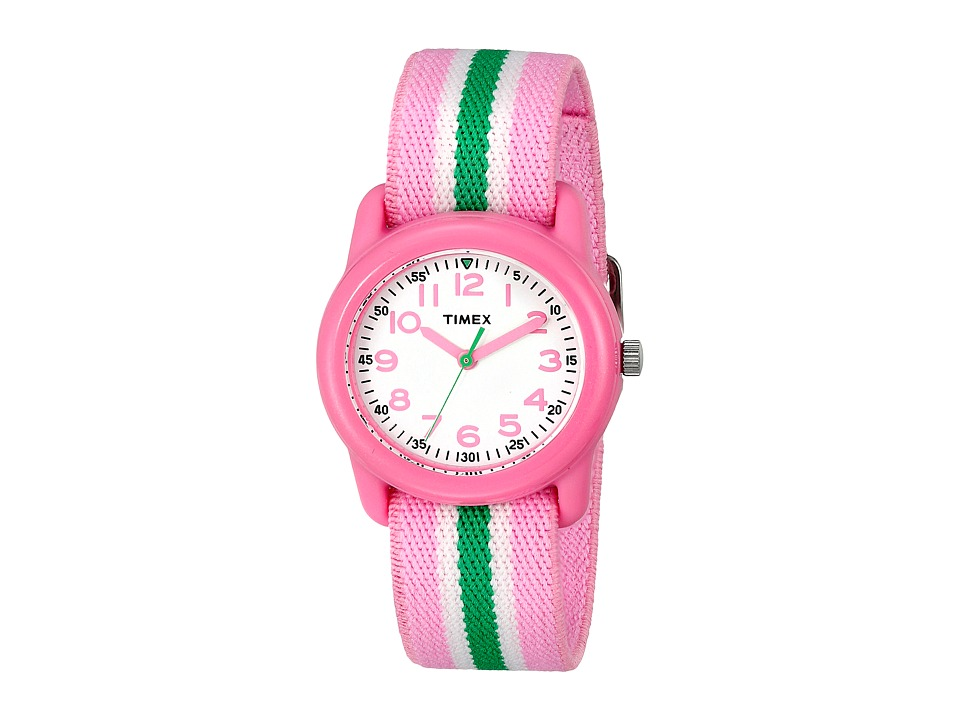 Timex Analog Little Kids/Big Kids Pink/Green/White Analog Watches