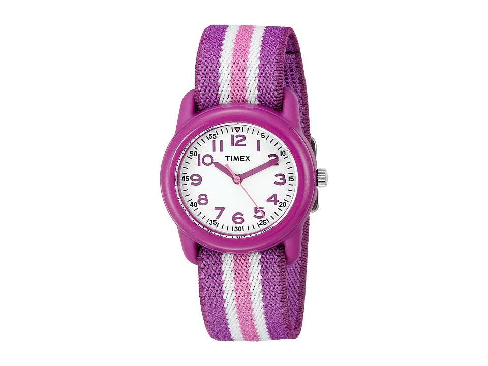 Timex Analog Little Kids/Big Kids Purple/Pink/White Analog Watches