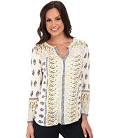 Lucky Brand - Woodblock Border Top