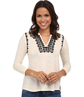 Lucky Brand - Embroidered Boho Top