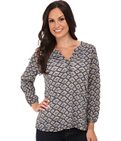 Lucky Brand - Diamond Woodblock Top