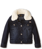 Lucky Brand Kids - Stevie Denim Jacket with Sherpa Collar (Toddler)
