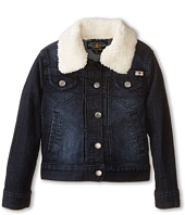 Lucky Brand Kids - Stevie Denim Jacket with Sherpa Collar (Little Kids)