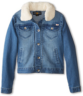 Lucky Brand Kids - Stevie Denim Jacket with Sherpa Collar (Big Kids)