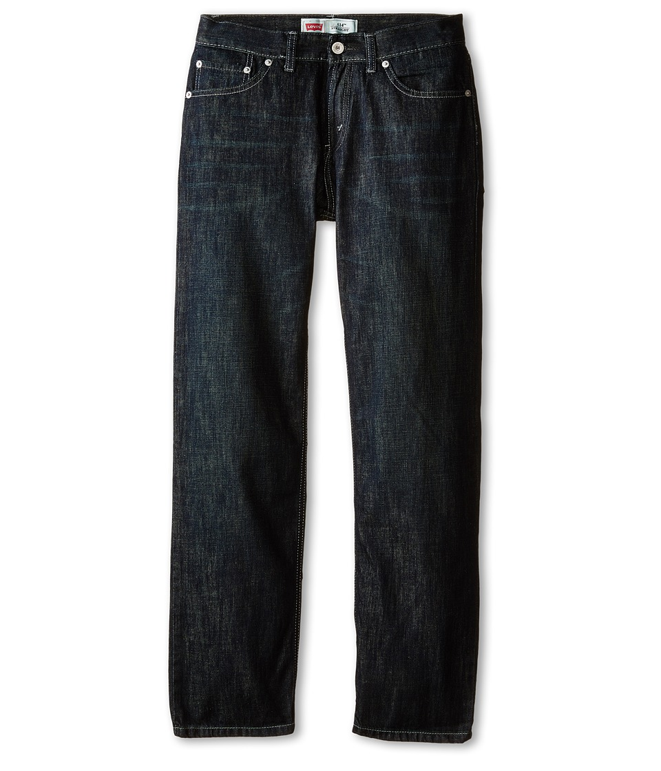 Levis(r) Kids - 514tm Straight Jean (Big Kids) (Fume) Boys Jeans
