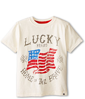 Lucky Brand Kids - Home of the Brave Tee (Little Kids/Big Kids)