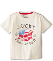 Lucky Brand Kids - Home of the Brave Tee (Toddler)
