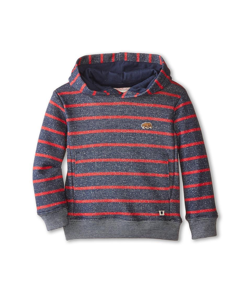 Lucky Brand Kids Bear Patch Hoodie Toddler Mood Blue Boys Sweatshirt