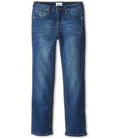 Hudson Kids - Parker French Terry Straight Leg in Blue Collar (Big Kids)