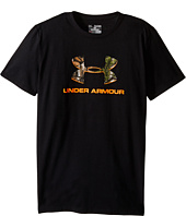 Under Armour Kids - UA Camo Fill Logo Tee (Big Kids)