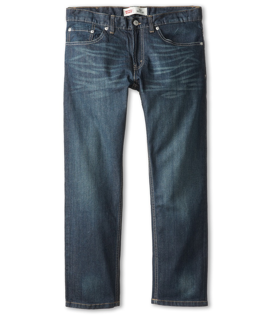 Levis(r) Kids - 505tm Regular Fit Jean - Husky (Big Kids) (Cash) Boys Jeans