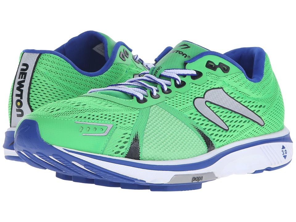 Newton Running Gravity V Green/Blue Mens Running Shoes