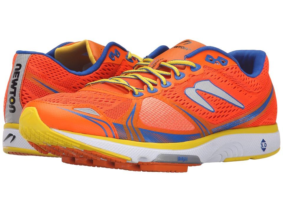 Newton Running Motion V Orange/Blue Mens Running Shoes