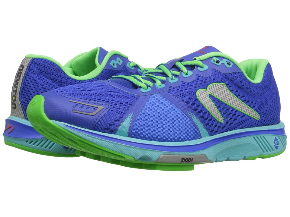 Newton Running Gravity V Dark Blue/Lime Womens Running Shoes
