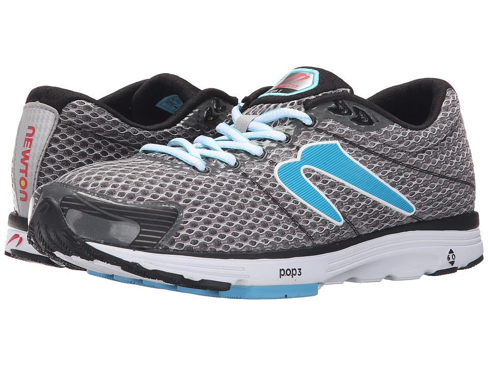Newton Running Aha II Black/Light Blue Womens Running Shoes