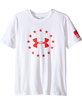 Under Armour Kids - Freedom Logo Short Sleeve Tee (Big Kids)