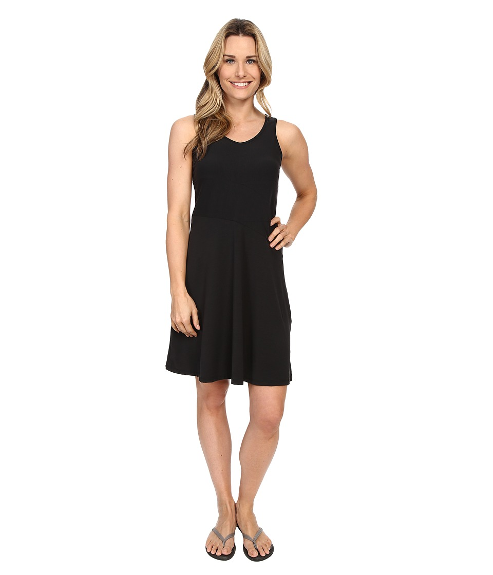 Prana Amelie Dress (Black) Women