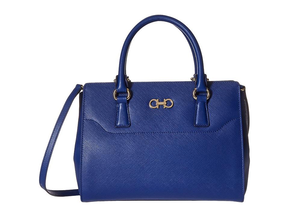 Salvatore Ferragamo - 21F317 Beky (Ocean) Satchel Handbags