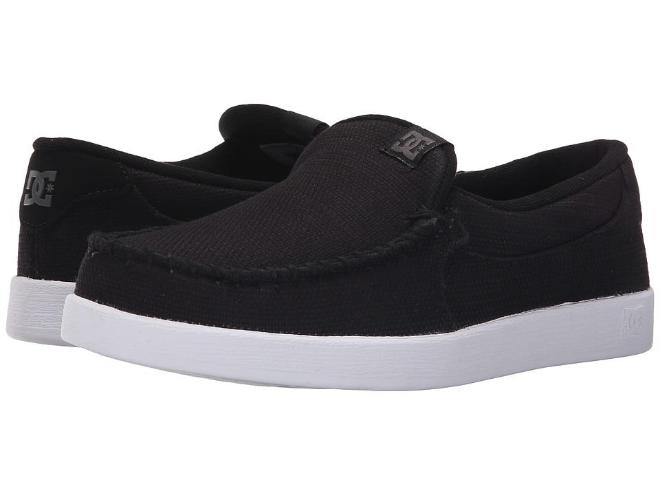 DC Villain TX Black Mens Skate Shoes