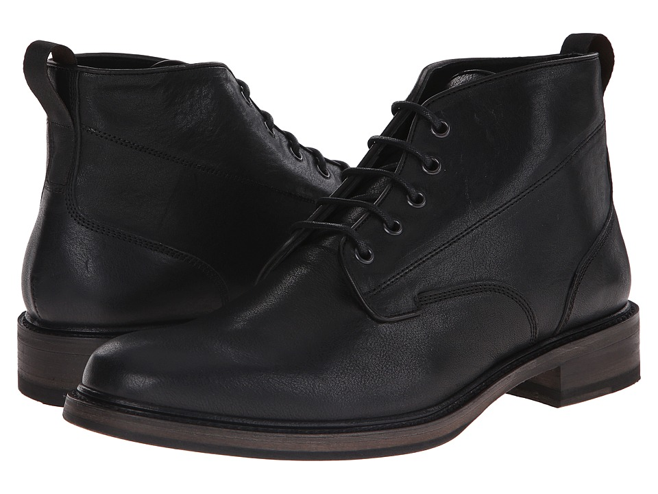 rag amp bone Spencer Chukka Black Mens Lace up Boots
