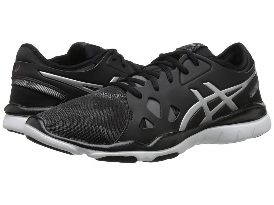 ASICS - Gel-Fit Nova 2 (Black/Silver) Womens Shoes