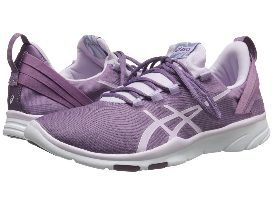 ASICS - Gel-Fit Sana 2 (Purple Grape/Ice Blue/Lilac) Womens Cross Training Shoes