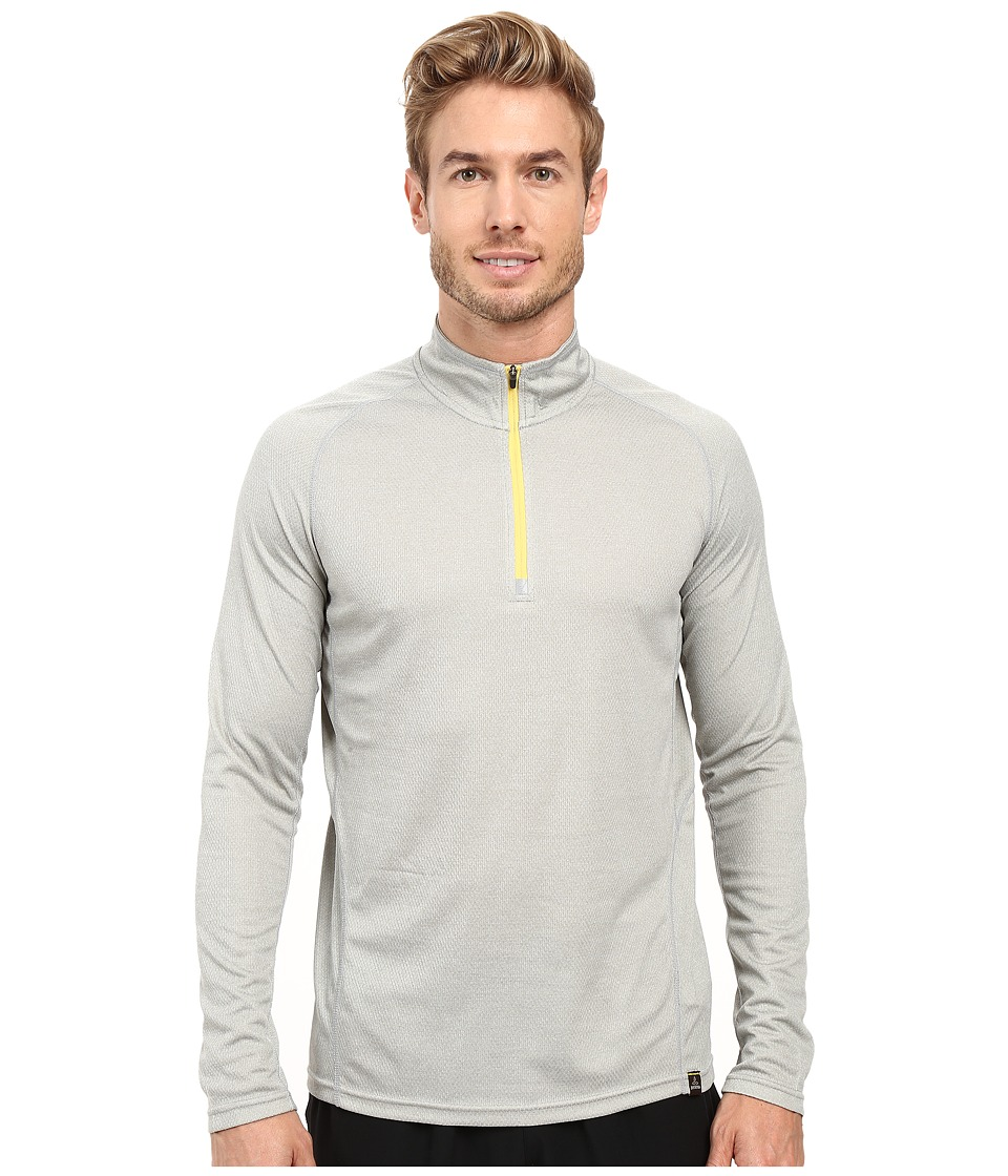 Prana Orion 1/4 Zip (Silver) Men