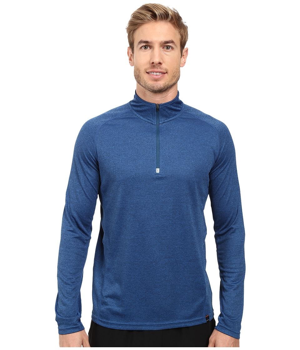 Prana Orion 1/4 Zip (Blue Ridge) Men