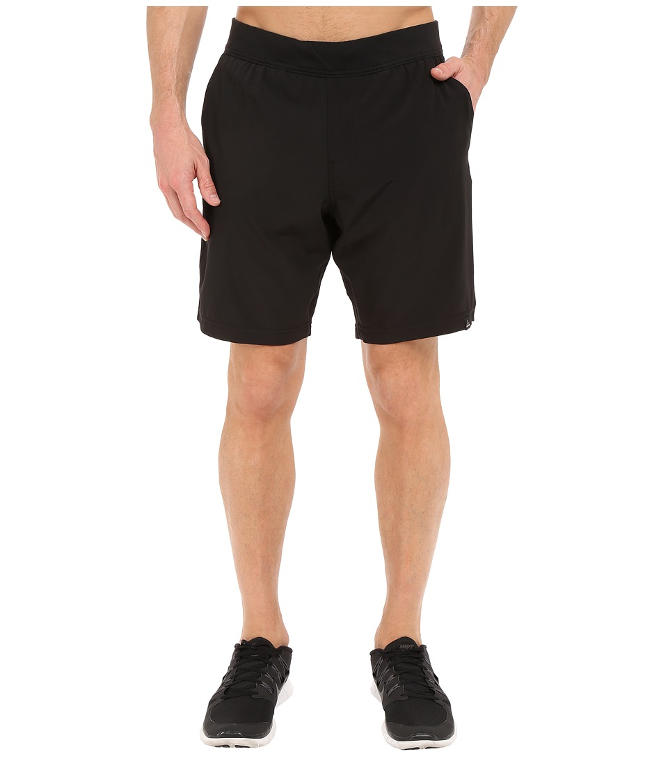 Prana Overhold Shorts (Black) Men