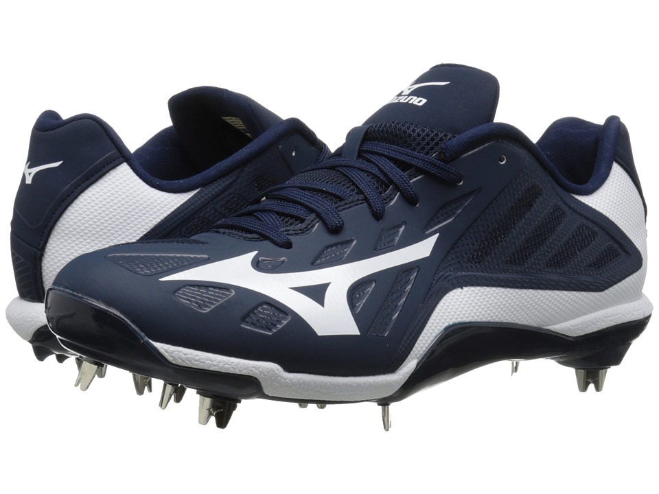 Mizuno - Heist IQ Low (Navy/White) Men